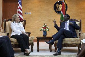 Hillary Raila Odinga