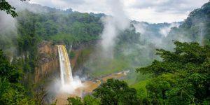 Cameroon Waterfall