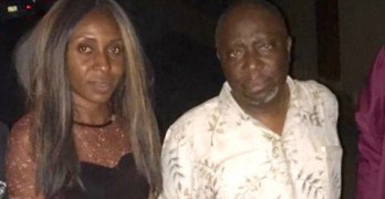 Evelyn Okakwu and Dapo Olorunyomi of Premium Times after being released by Nigerian authorities last night