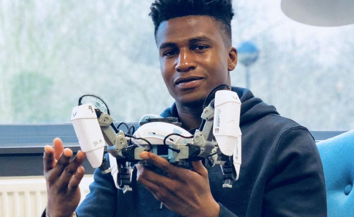 Meet This 26 Year Old Nigerian Who Is The Highest Paid Robotics