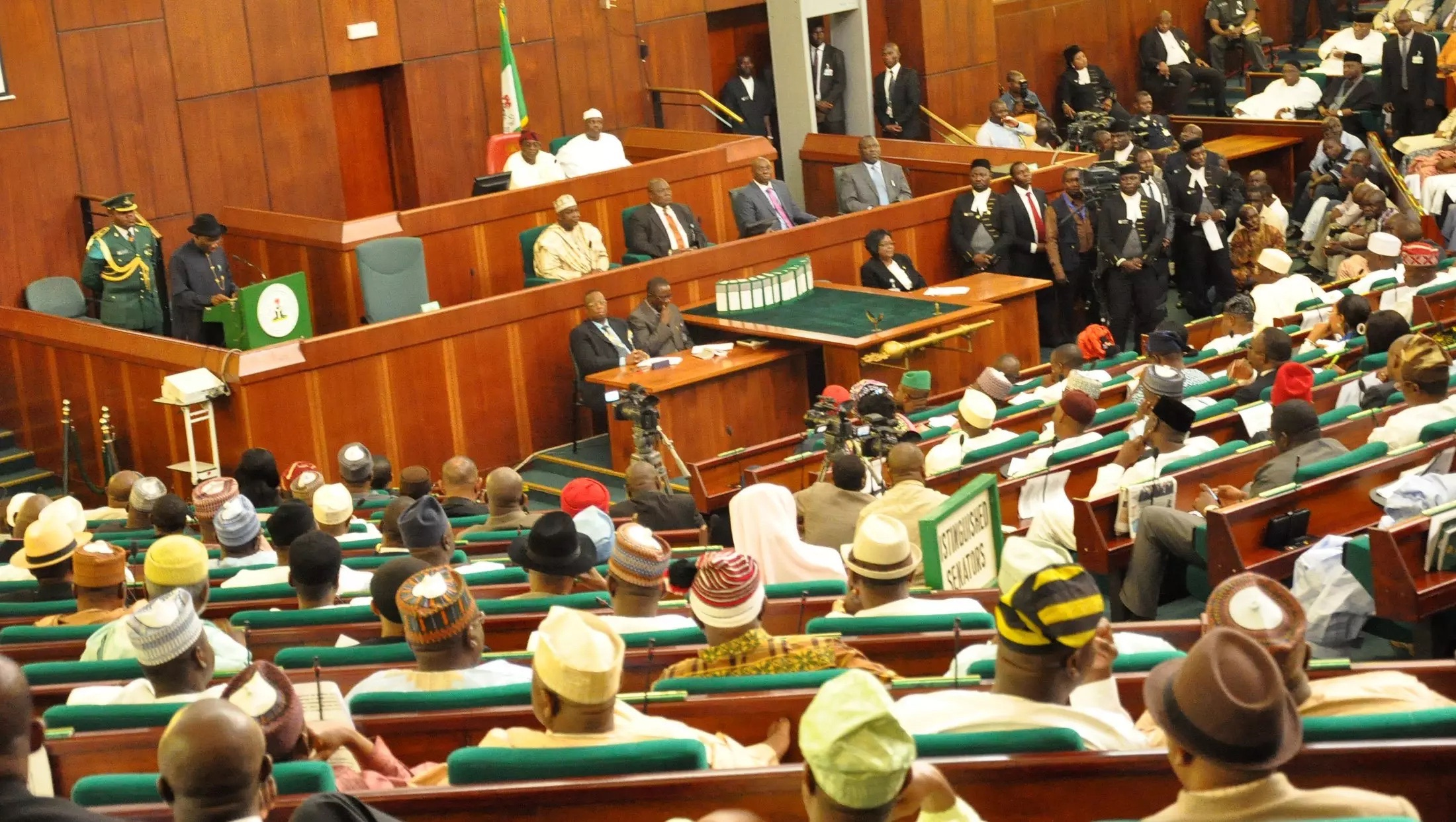 Nigerian Lawmakers are Eating the Country's Wealth with Insane